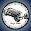 Tim Odell Single Seater Wall Clock, Lighted