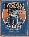 """Tool'In Hand Garage\"" Tin Sign"