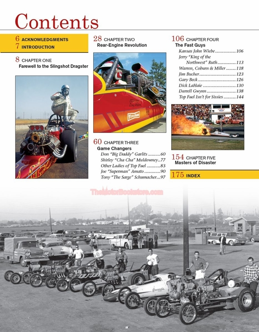 Top Fuel Dragsters Rear-Engine Revolution