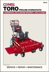 Toro Proline Hydrostatic Commercial Walk-Behind Mowers Repair Manual, 1990 & Later
