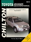 Toyota 4Runner Repair Manual 2003-2009