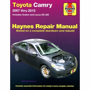 Toyota Camry, Avalon, Lexus ES350 Repair Manual 2007-2015