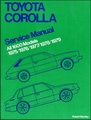 Toyota Corolla 1600 Repair Manual 1975-1979