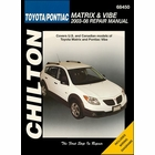 Toyota Matrix, Pontiac Vibe Repair Manual 2003-2008