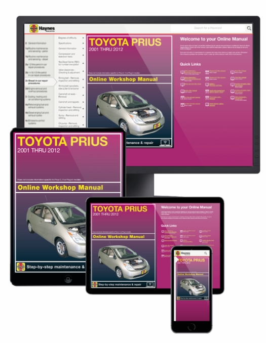 Toyota Prius Online Service Manual, 2001-2012