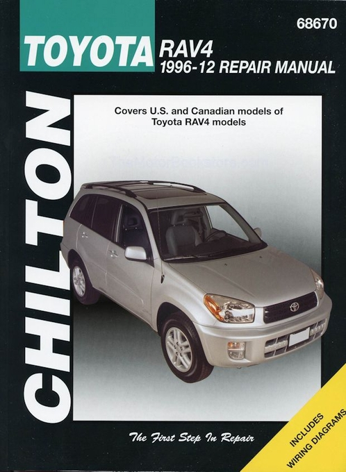toyota rav4 repair shop manual 1996 2012 chilton 68670 rh themotorbookstore com manual toyota rav4 2014 manual transmission toyota rav4