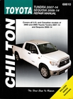 Toyota Tundra, Sequoia 2007-2014 Repair Manual (2WD, 4WD)