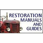 Tractor Restoration, Painting, etc.