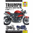 Triumph 1050 Sprint ST, Speed Triple, Tiger Repair Manual 2005-2013