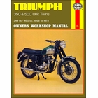 Triumph 350, T90, 500 5TA, T100, T100SS Repair Manual 1958-1973