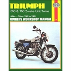 Triumph 650, 750 Bonneville, Tiger Repair Manual 1963-1983
