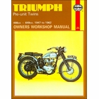 Triumph T110, T120, TR5, TR6 Repair Manual 1947-1962