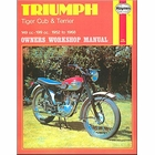 Triumph Tiger Cub, Terrier Repair Shop Manual 1952-1968