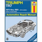 Triumph TR7 Coupe, Convertible 2.0 Liter Repair Manual 1975-1981