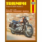 Triumph Trident T150, BSA Rocket III Repair Manual 1969-1975