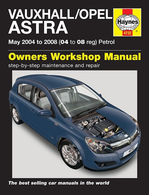 manual opel astra hatchback
