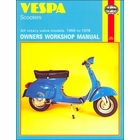 Vespa Scooters Rotary-Valve Repair Shop Manual 1959-1978