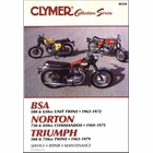 Vintage British Street Bikes Repair Manual: BSA, Norton, Triumph