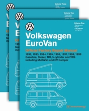 Volkswagen EuroVan Repair Manual: 1992-1999