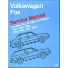 Volkswagen Fox Service Manual 1987-1993 Incl. GL, GL Sport, Wagon