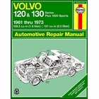 Volvo 120, 130, P1800 Repair Manual 1961-1973