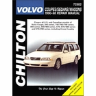 Volvo Coupes, Sedan, Wagons Repair Manual 1990-1998