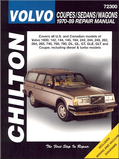 volvo dl gl gt gle glt coupe repair manual 1970 1989. Black Bedroom Furniture Sets. Home Design Ideas