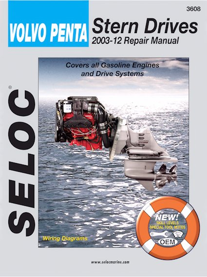 Volvo Penta Stern Drives Repair Manual 2003-2012