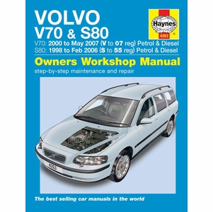 Volvo V70 & S80 Repair Manual: 1998-2007