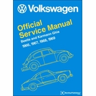 VW Beetle, Karmann Ghia Repair Manual 1966-1969