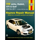 VW Jetta, Rabbit, GTI, Golf Haynes Repair Manual 2006-2011