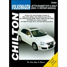 VW Jetta, Rabbit, GTI, Golf Repair Manual 2006-2011