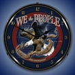 We the People 2nd Amendment  Wall Clock, Lighted