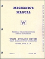 Willys-Overland Motors Jeep & Jeepster Mechanic's Manual 1938-1949