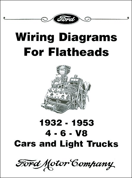 1932 1953 licensed ford wiring diagrams for flathead engines rh themotorbookstore com 1950 Ford Wiring Diagram Ford Mustang Wiring Diagram