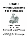 Wiring Diagrams for Ford Flatheads - 4, 6, V8 1932-1953