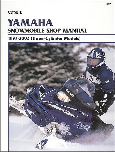 yamaha snowmobile 3 cylinder repair manual 1997 2002 clymer rh themotorbookstore com yamaha snowmobile service manual yamaha snowmobile repair manual