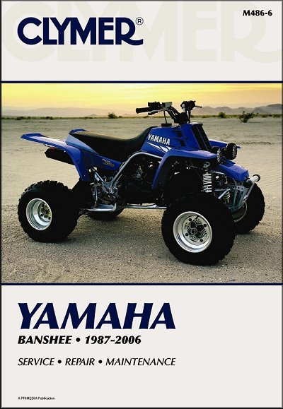 Yamaha Yfz350 Banshee Atv Repair Manual 1987 2006 Clymer M486 6