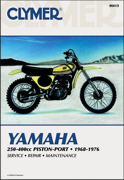 yamaha dt1 2 3 mx250 360 yz250 350 360 repair manual 1968 1976 rh themotorbookstore com