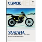 Yamaha DT1, DT2, DT3, MX250, MX360, RT1, RT2, RT3, DT250, DT360, DT400, YZ250, YZ350, YZ360 Repair Manual 1968-1976