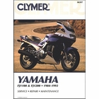 Yamaha FJ1100, FJ1200 Repair Manual 1984-1993
