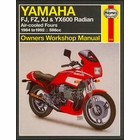 Yamaha FJ600, FZ600, XJ600, YX600 Radian Repair Manual 1984-1992