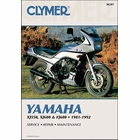 Yamaha FJ600, XJ550, XJ600 Repair Manual 1981-1992