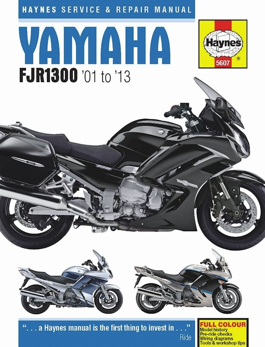 yamaha fjr1300 service and repair manual 2001 2013 haynes. Black Bedroom Furniture Sets. Home Design Ideas