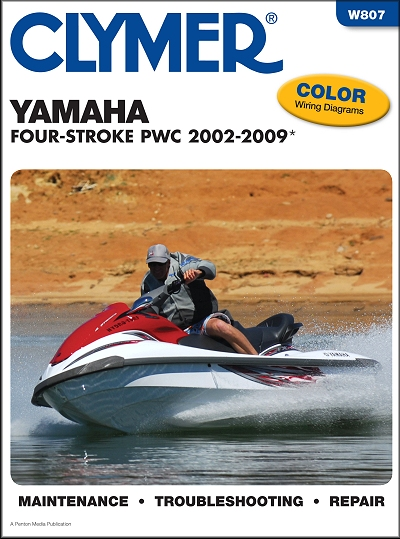Yamaha Four-Stroke FX, FX140, VX PWC Repair Manual 2002-2009