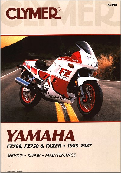 yamaha fz700 fz750 fzx700 fazer repair manual 1985 1987 26 yamaha fz700, fz750, fzx700 fazer repair manual 1985 1987 clymer  at bakdesigns.co