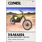 Yamaha GT1, GT80, YZ80, YZ100, DT100, MX100, DT125, MX125, YZ125, DT175, MX175 Repair Manual 1968-1976