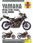 Yamaha MT/FZ/FJ-09 Tracer, XSR900 Repair Manual: 2013-2016