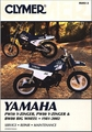 Yamaha PW50, PW80 Y-Zinger, BW80 Repair Manual 1981-2002