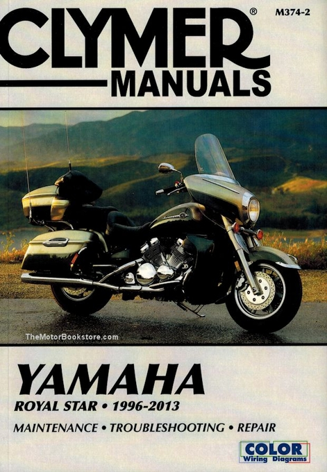 yamaha royal star xvz1300 repair manual 1996 2013 14 yamaha royal star repair manual by clymer 1996 2013 Vulcan 750 Wiring Diagram at webbmarketing.co